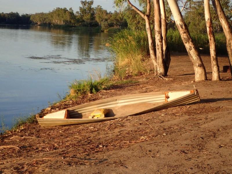 tin canoe